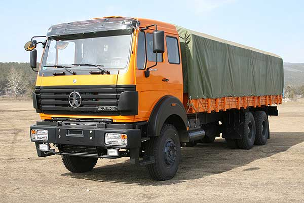 Бортовой автомобиль North Benz ND1255BJ 6х4